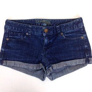 Express Denim Cuffed Shorts 26 - N446